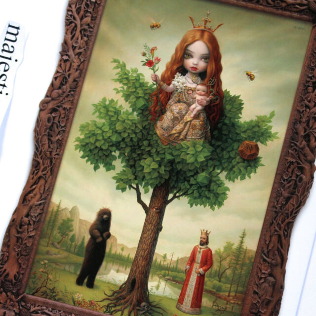 MARK RYDEN TREE OF LIFE 2011 INVITE CARD ART PRINT