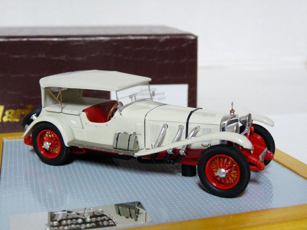 Ilario IL43079 1 43 '27 Mercedes-Benz 680 Sindelfingen Handmade Resin Model Car