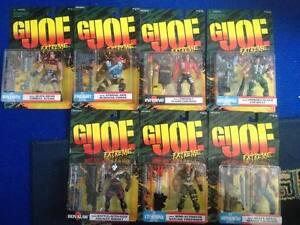 G.i.   Joe Extreme Iron Klaw Ensemble De 7 Figurines Cardées 76281811772