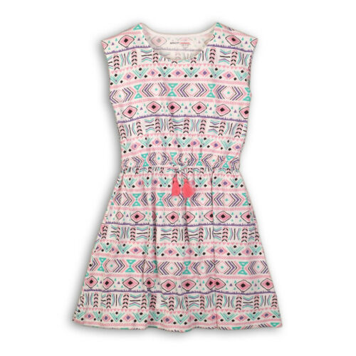 NEW Girls Boho Print Summer Dress Cotton Ages 3,4,5,6,7,8,9,10,11,12,13 Years