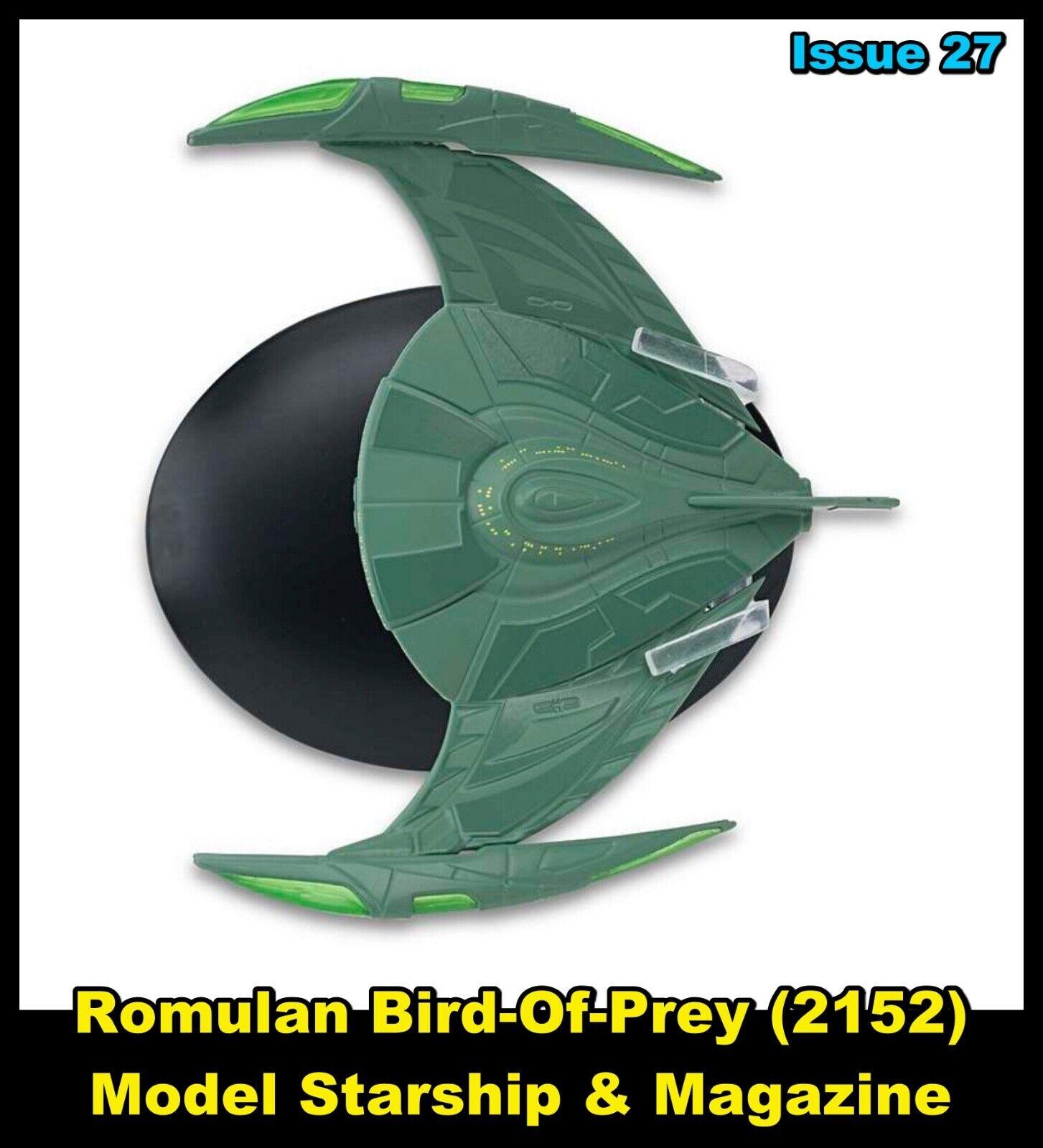 Issue 27 Romulan Bird of Prey (2152)