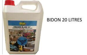 Vinagre-Blanco-14-Grado-Mantenimiento-Limpieza-Botella-20-Litros-Listo-para-L