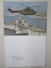 DOCUMENT 1 PAGE HELICOPTERE AEROSPATIALE SA 330 PUMA CHATEAU D'IF HELICOPTER