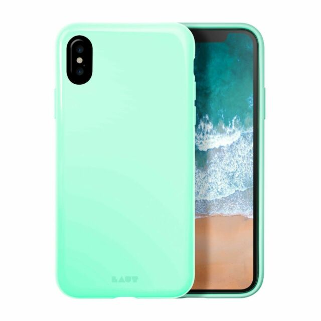 detailing 7971d 1ca0c LAUT iPhone 8 Plus/7 Plus/6 Plus Case Huex - MINT Green With Screen Guards