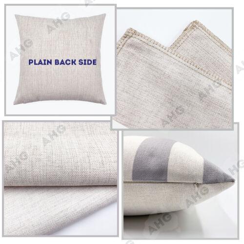 45 30x50 Linen Cotton kids room home decor Cushion Cover black white zebra print