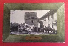 CPA. 1906. Illustrateur W.C.NAKKEN. Dans le Limbourg. Cadre imitant le Bois.