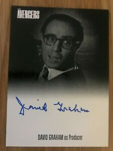 Unstoppable Avengers Complete Collection DAVID GRAHAM Autograph Card AVDG BACK