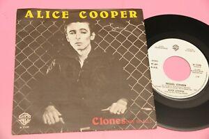 ALICE-COOPER-7-034-45-CLONES-ORIG-ITALY-1980-NM-PROMO-EDITION