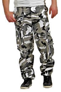 Game-Cargo-Hommes-Pantalon-Trouser-Pants-Camouflage-Army-Armee-Pantalon