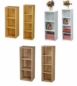 huge selection of 76b39 7cc62 Details about Wooden Bedside Bookcase Shelving Display Storage Wood Shelf  Shelves Cube Cabinet