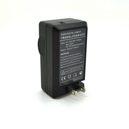 2600mAh per LED Luce Video Progo 2 mAh Batteria /& Caricabatteria Set per Sony NP-F550//570