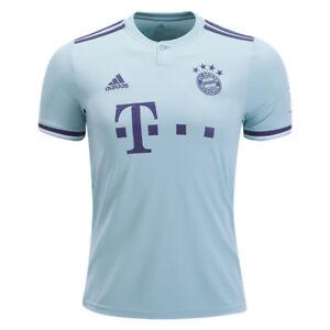 adidas-Men-039-s-Bayern-Munich-18-19-Away-Jersey-Ash-Green-Trace-Purple-CF5410