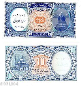 Egypte Egypt Billet 10 Piastres Nd (2004 -2011) Pyramide Sphinx Neuf Unc Rkvfqzjc-07224809-667917557