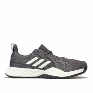 Adidas-Femme-Solaire-LT-Lacets-Rembourre-Entrainement-Baskets-en-Gris-et-Blanc