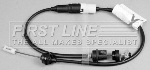 FORD P100 1.6 Clutch Cable 86 to 87 LCR Firstline 6066674 6066675 Quality New
