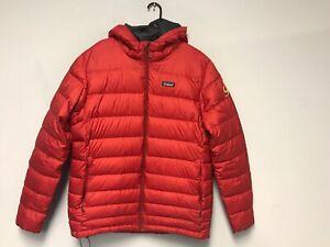Patagonia Men S Hi Loft Down Sweater Hoody Red Size L Ebay