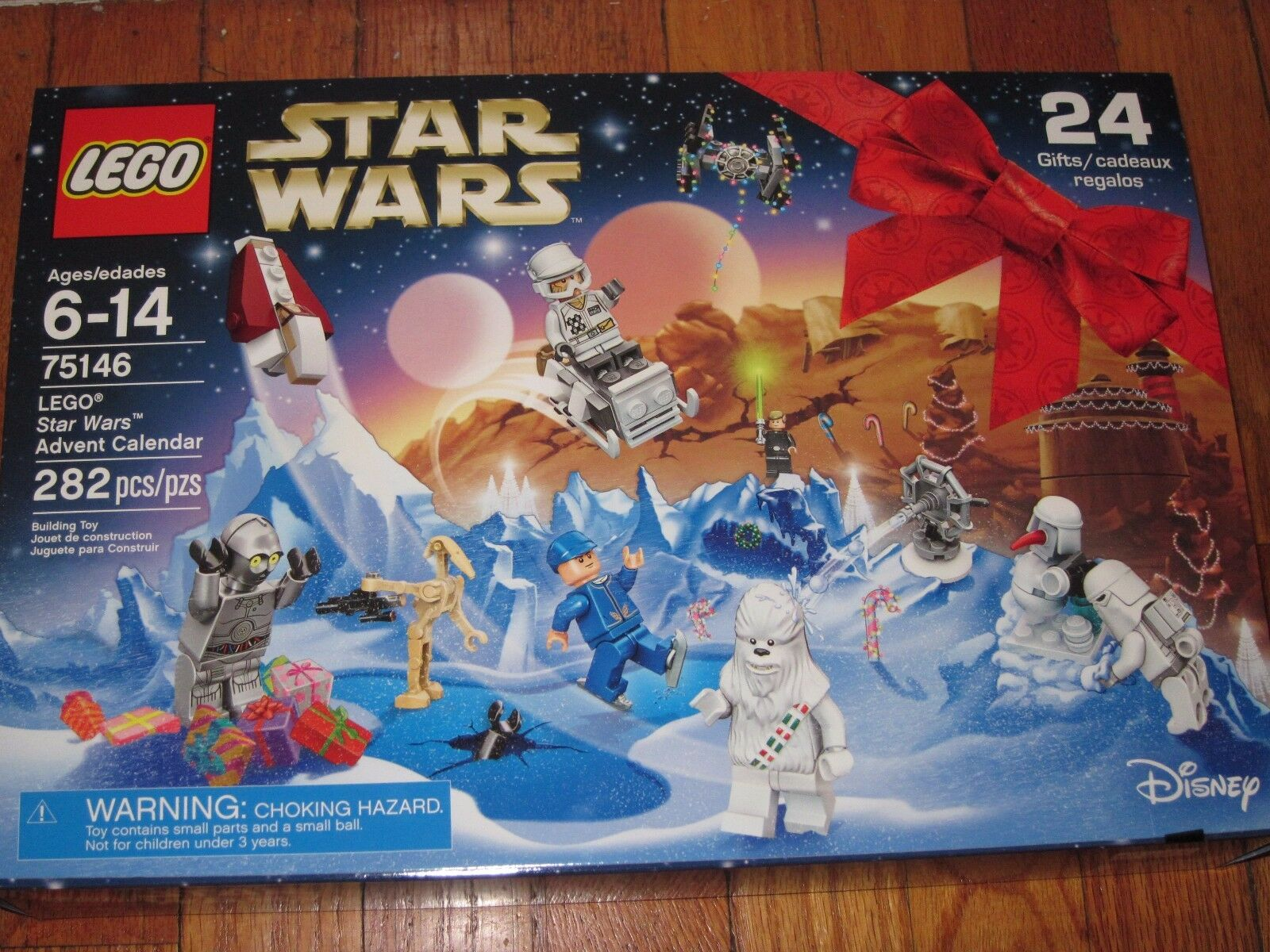 LEGO STAR WARS 75146 ADVENT CALENDAR 282 PIECES 2016 NEW SEALED