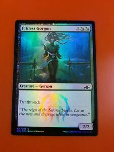 1x-Pitiless-Gorgon-FOIL-Guilds-of-Ravnica-MTG-Magic-Cards