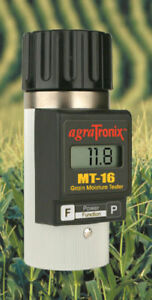 Agratronix Grain moisture tester rice corn wheat barley oat MT-16 MT16 USA