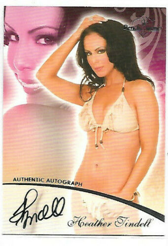 Autograph Card Selection NM Glamour Model Benchwarmer Playboy