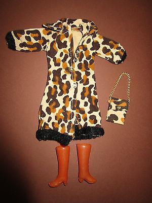 (28) Età Vintage Barbie Leopardi-cappotto + A Ciò Udito. Custodia + Vecchia Marroni Stivali-el+dazugehÖr.tasche+braune Alte Stiefel It-it Mostra Il Titolo Originale Impermeabile, Resistente Agli Urti E Antimagnetico