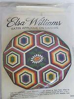 Elsa Williams Satin Applique On Canvas Crewel Embroidery Needlepoint Kit 06180