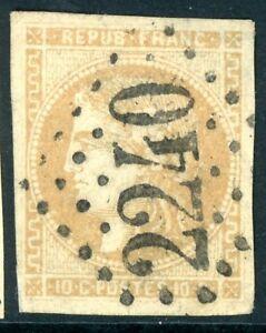 Timbre-de-France-classique-Ceres-n-43A-Obliteration-GC-2240-Marseille
