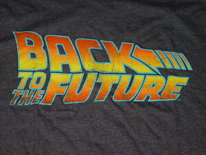 BACK-TO-THE-FUTURE-movie-DELOREAN-T-Shirt-NEW-sz-LARGE