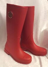 176f11695bb item 2 TORY BURCH Sarah Logo Tory Red Rubber Rainboots Tall Boots 8 -TORY  BURCH Sarah Logo Tory Red Rubber Rainboots Tall Boots 8