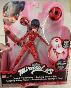 """7.5/"""" Miraculous Zip Line Ladybug Action Doll"""