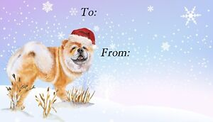 Chow-Chow-Dog-Christmas-Labels-by-Starprint-Set-of-42-peel-off-self-adhesive