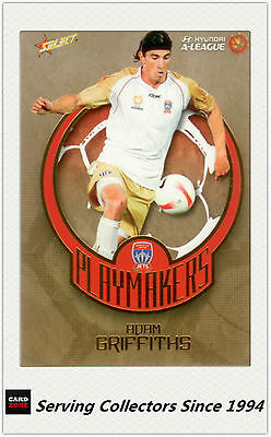2008-09 Select A League Soccer Limited Edition Case Card Newcastle Jets