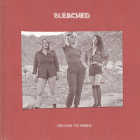 Bleached Welcome The Worms Black/cream Vinyl Lp Record & Mp3 Ride Your Heart