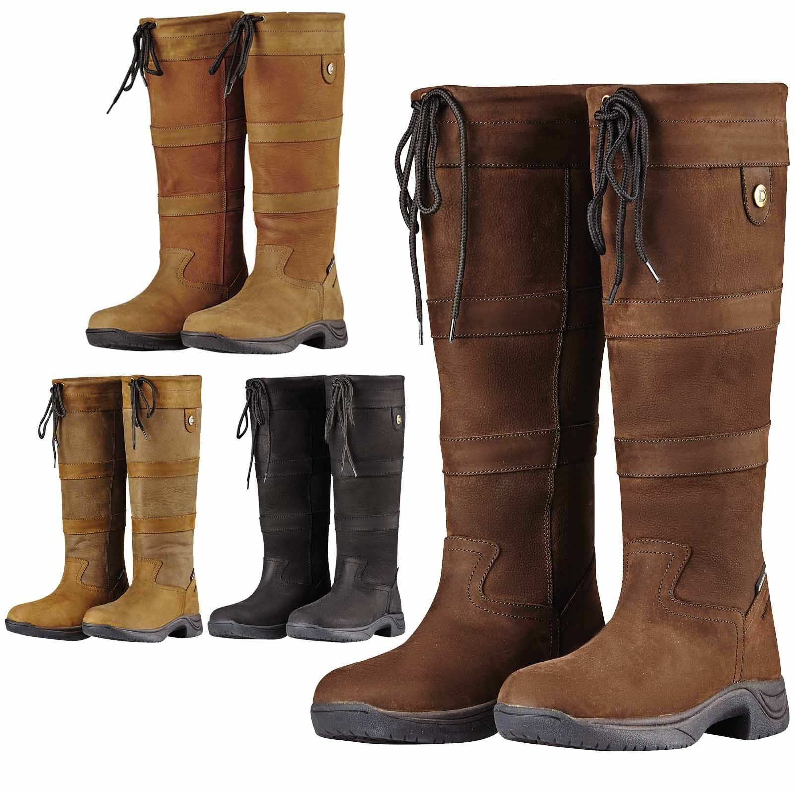NEW Dublin River III Ladies Waterproof Dog Walking Horse Riding Country Boots