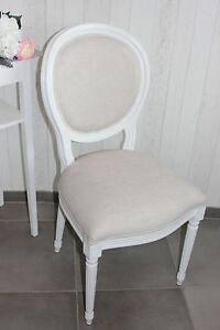 stuhl polsterstuhl esszimmerstuhl barock weiss landhaus. Black Bedroom Furniture Sets. Home Design Ideas