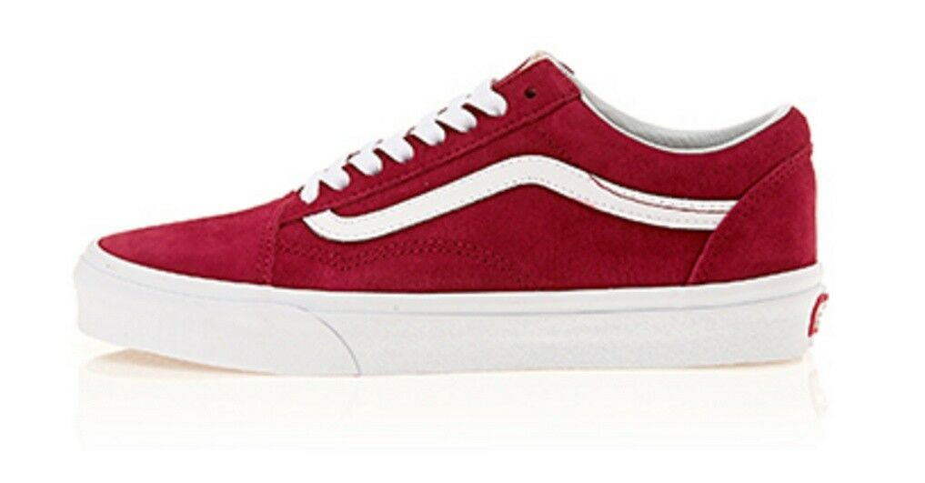 VANS OLD SKOOL RED Shoes VN0A38G1U5M High quality Athletic Shoes RED 5f8b9f