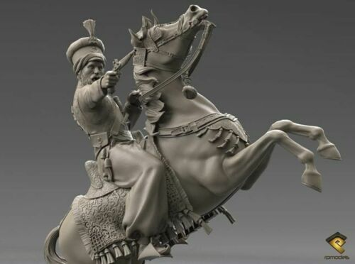 RP Models General Pascha Mustafa Unpainted 120mm kit Limited Edition