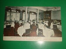 ZF760 Vntage Postcard Main Dining Room Hotel Albert 11th St University Place NYC