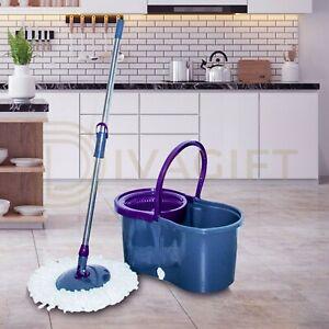 360-Squeeze-Microfiber-Mop-and-Bucket-Set-Pads-Home-Floor-Tiles-Cleaning
