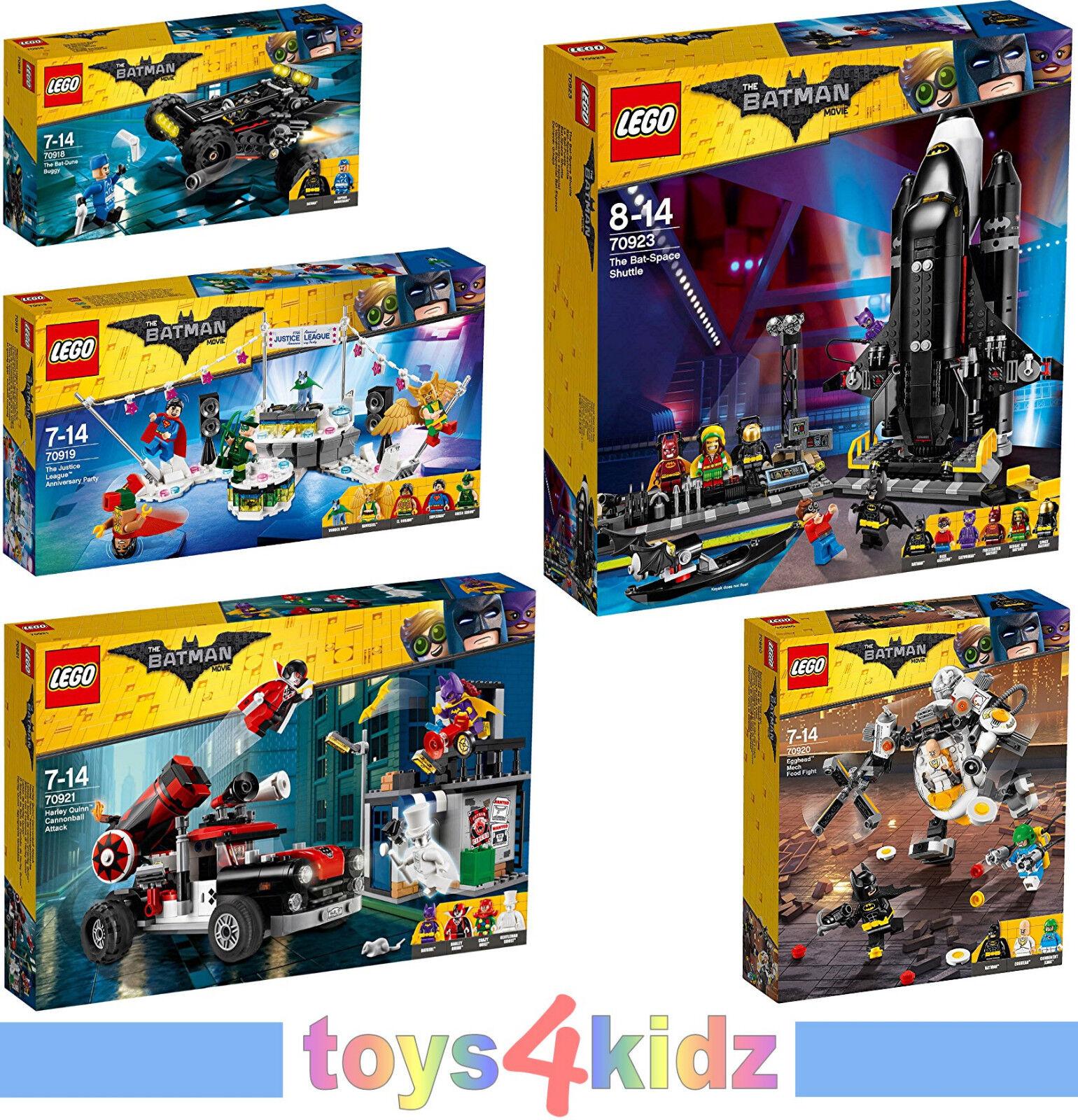 LEGO® The Batman Movie 70918 - 70923 zum Auswählen   NEU / OVP