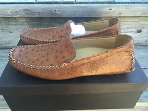 08b42434a2b NIB Cole Haan Exotics Genuine Ostrich Loafers C05354 Shoes 9M RARE ...