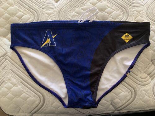 High School Team Water Polo Suit speedo brief mens Size 38 2XL