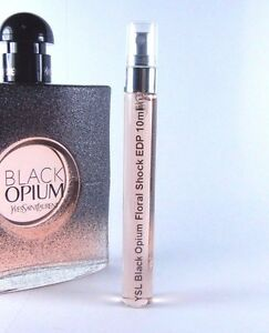 Yves Saint Laurent Black Opium Floral Shock 10ml Glass Travel Sample