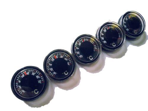 5 pezzi Mini Outdoor Termometro Thermomètre Termómetro Termometro