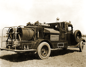 1936-US-Forest-Service-Fire-Truck-Montana-Vintage-Old-Photo-8-5-034-x-11-034-Reprint