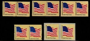 Details About 4131 4132 4133 4184 4135 Ndn Flag Coil Pairs Set 5 Mnh