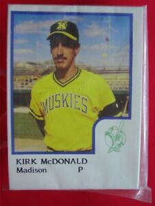 1986-PROCARDS-MADISON-MUSKIES-MINOR-LEAGUE-TEAM-SET-TUFF-TO-FIND