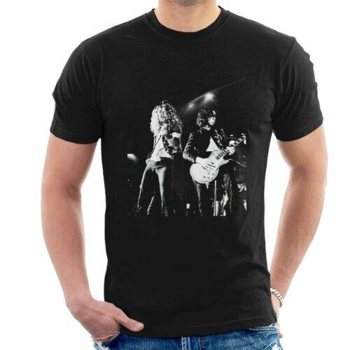 Debi Doss Official Photography Led Zeppelin Cardiff 1972 Men/'s T-Shirt