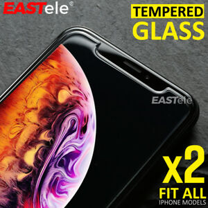 2x-EASTele-Apple-iPhone-8-Plus-7-11-Pro-XS-Max-Tempered-Glass-Screen-Protector