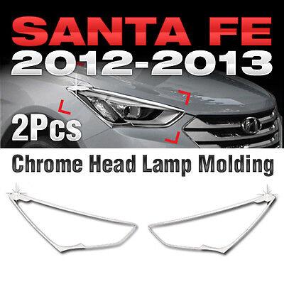 Chrome Mirror Cover Garnish Molding Trim C446 For HYUNDAI 2013-2016 Santa Fe DM